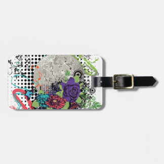 Grunge Silver Disco Ball2 [Converted]-01 Luggage Tag