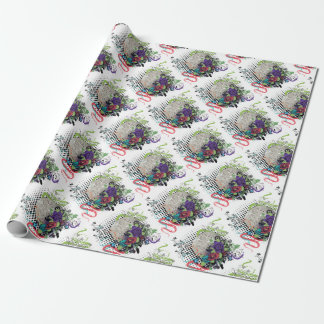 Grunge Silver Disco Ball2 [Converted]-01 Wrapping Paper