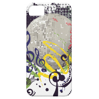 Grunge Silver Disco Ball 2 Case For The iPhone 5