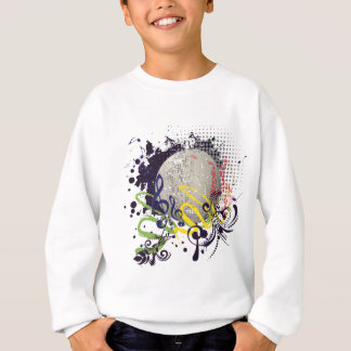 Grunge Silver Disco Ball 2 Sweatshirt