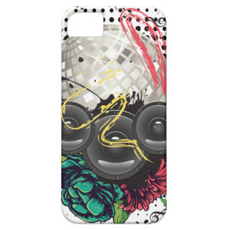 Grunge Silver Disco Ball iPhone 5 Cover