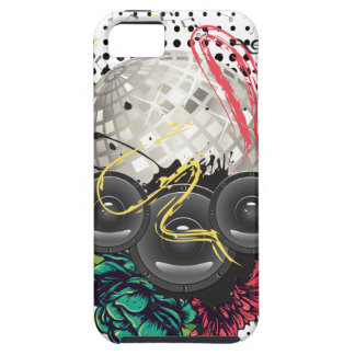 Grunge Silver Disco Ball iPhone 5 Covers