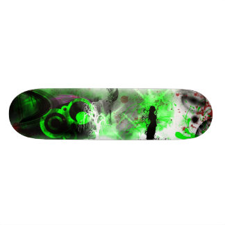 Grunge Custom Skateboard