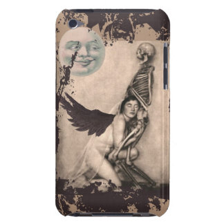 Grunge Skeleton and Angel iPod Touch Cases