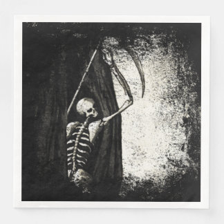 Grunge skeleton Napkins