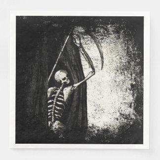 Grunge skeleton Napkins Paper Napkins