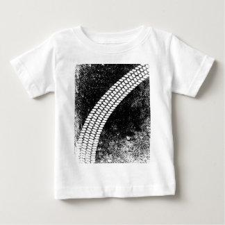 Grunge Skid Mark Baby T-Shirt