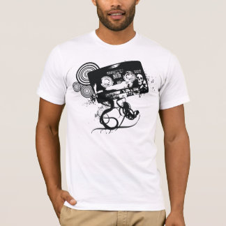 Grunge Skull Audio Tape T-Shirt