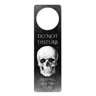 Grunge Skull Door Hanger