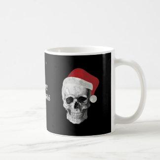 Grunge Skull Santa Coffee Mug