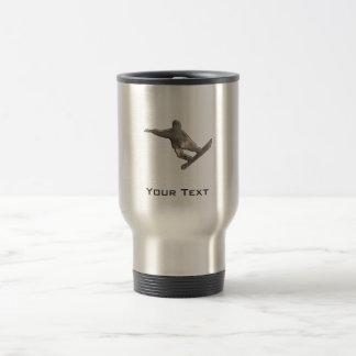 Grunge Snowboarding Travel Mug