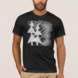 grunge snowy night T-Shirt