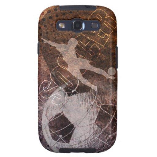 Grunge Soccer - Men Samsung Galaxy SIII Case