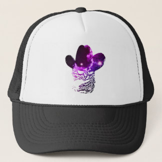 Grunge Space cat 2 Trucker Hat