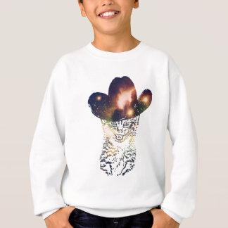 Grunge Space cat 3 Sweatshirt