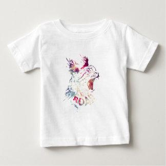 Grunge Space cat Baby T-Shirt