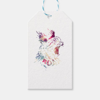 Grunge Space cat Gift Tags