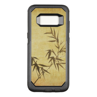 Grunge Stained Bamboo Paper Background OtterBox Commuter Samsung Galaxy S8 Case