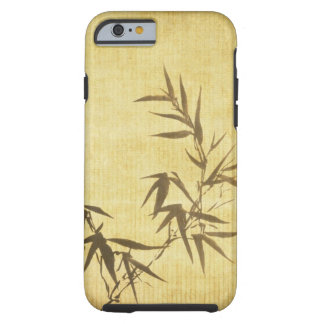Grunge Stained Bamboo Paper Background Tough iPhone 6 Case