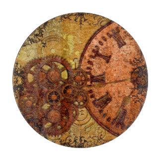 Grunge Steampunk Gear and Clock Boards