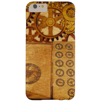 Grunge Steampunk Gears Barely There iPhone 6 Plus Case