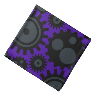 Grunge Steampunk Gears Do-rags