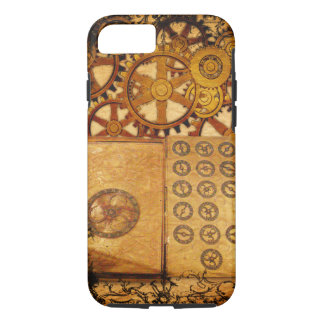 Grunge Steampunk Gears iPhone 8/7 Case
