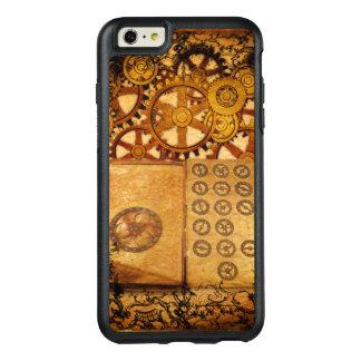 Grunge Steampunk Gears OtterBox iPhone 6/6s Plus Case