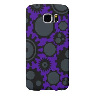 Grunge Steampunk Gears Samsung Galaxy S6 Cases