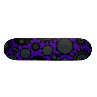 Grunge Steampunk Gears Skateboards