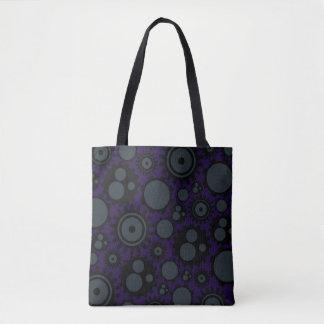 Grunge Steampunk Gears Tote Bag