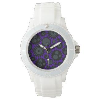 Grunge Steampunk Gears Wristwatch