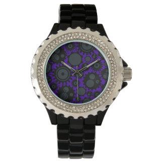 Grunge Steampunk Gears Wristwatches