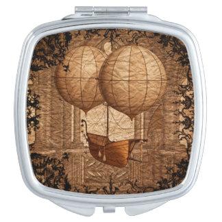 Grunge Steampunk Victorian Airship Mirror For Makeup