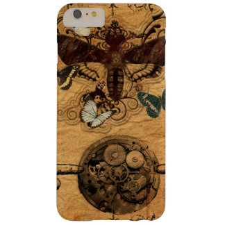 Grunge Steampunk Victorian Butterfly Barely There iPhone 6 Plus Case