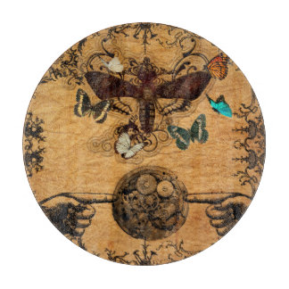 Grunge Steampunk Victorian Butterfly Boards