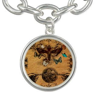 Grunge Steampunk Victorian Butterfly Bracelets