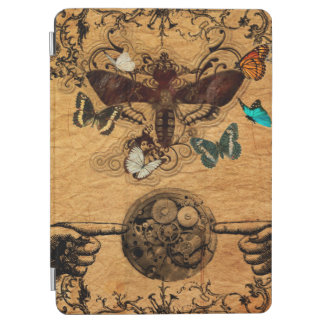 Grunge Steampunk Victorian Butterfly iPad Air Cover