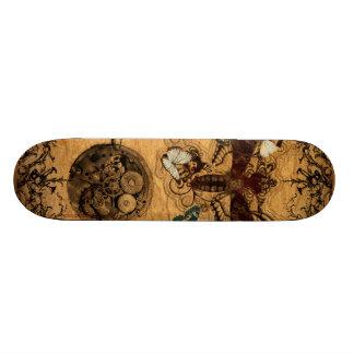 Grunge Steampunk Victorian Butterfly Skate Decks