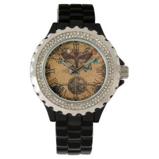 Grunge Steampunk Victorian Butterfly Watch