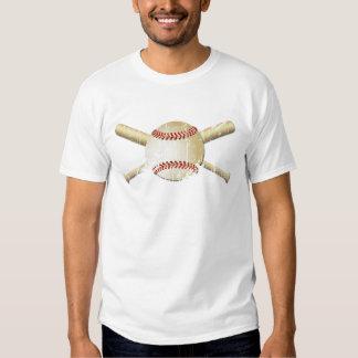 GRUNGE STYLE BASEBALL AND BATS T SHIRTS
