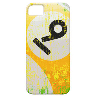 Grunge Style Number 9 Billiards Ball Case For The iPhone 5