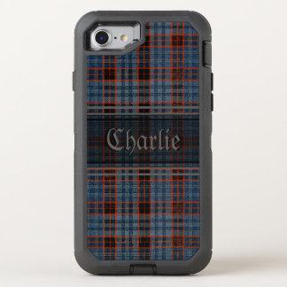 Grunge Tartan OtterBox Defender iPhone 8/7 Case