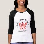 Grunge Tattoo Butterfly 6.1 AIDS Tee Shirt