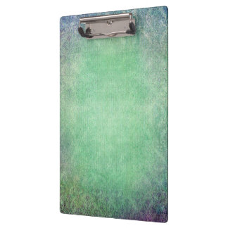 grunge teal damask template customizable trendy clipboard