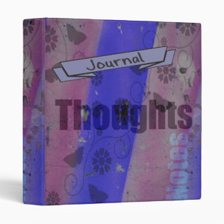 Grunge Thoughts, Notes Journal Binder