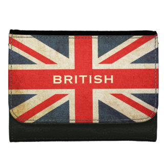 Grunge UK Flag Union Jack British Wallet