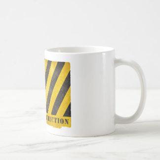 Grunge Under Construction Coffee Mug
