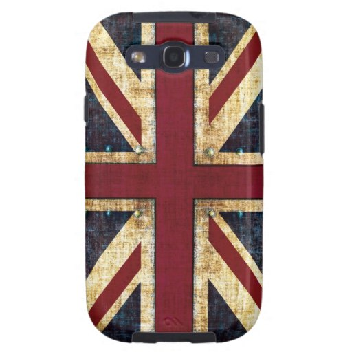 Grunge Union Jack case Samsung Galaxy SIII Covers