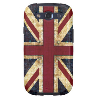 Grunge Union Jack case Samsung Galaxy SIII Covers